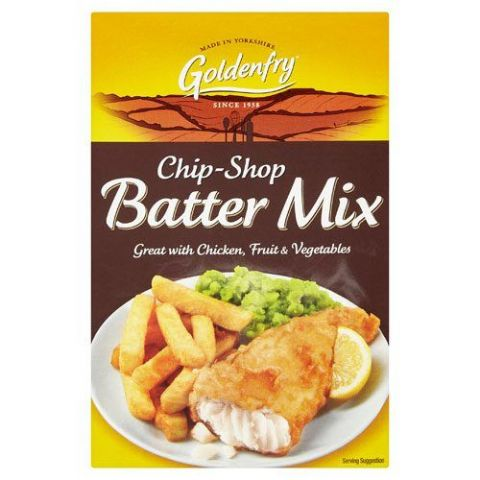 Chip-Shop Batter Mix Goldenfry Box 170g